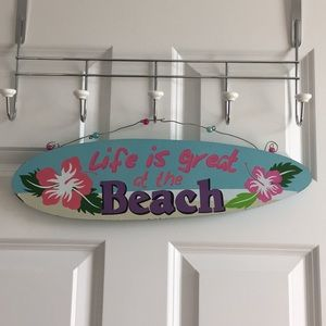 Other - Life is great at the Beach wall plaque